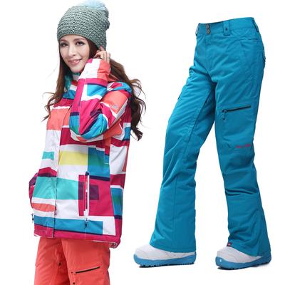 Теплый горнолыжный костюм женский доставка