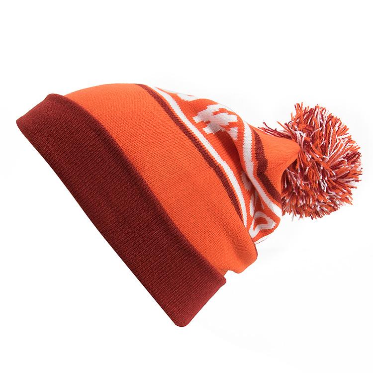 Горнолыжная шерстяная женская серая шапка фото