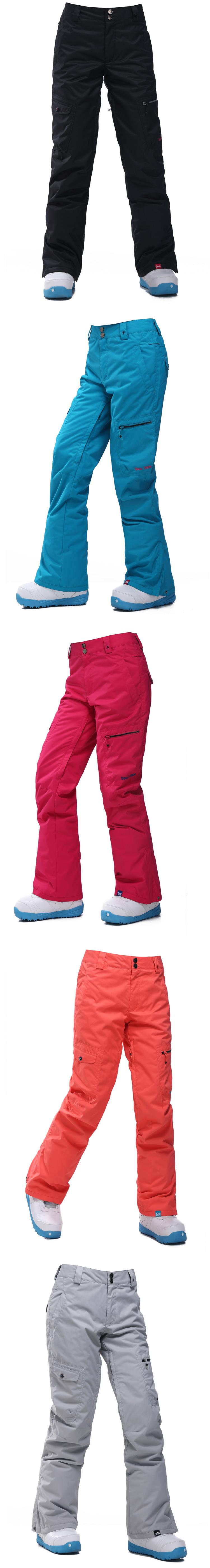женские горнолыжные брюки фото