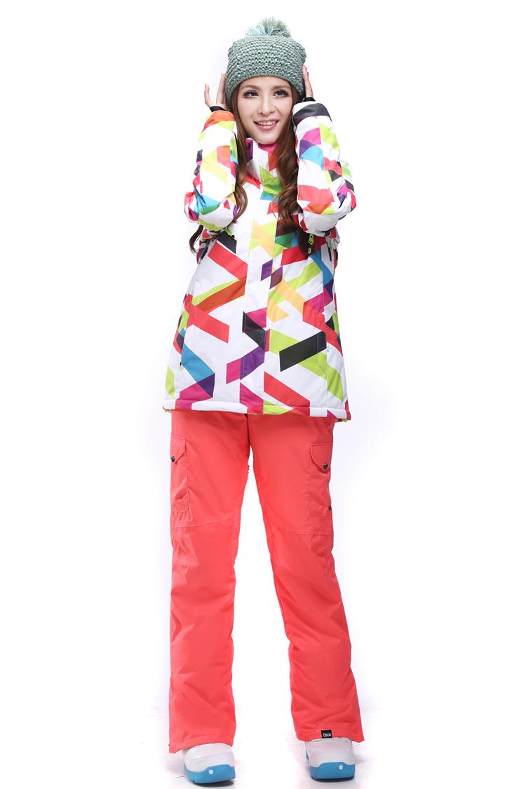 5eb9414460c1 Женский зимний лыжный костюм Gsou SNOW - цена 7950 руб   Интернет ...