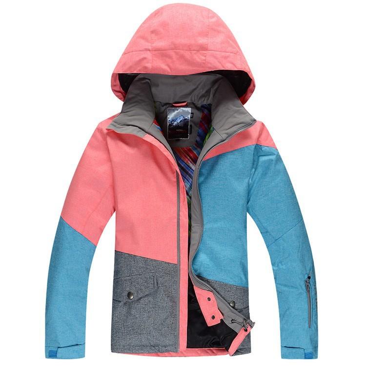 Женская зимняя лыжная куртка Gsou SNOW, женская куртка для сноуборда Gsou SNOW, лыжная экипировка, лыжная одежда