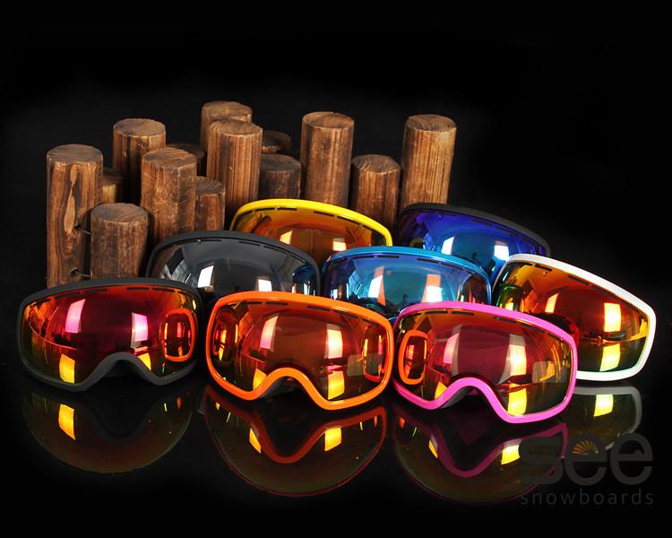 горнолыжные, лыжные, сноубордические очки маска фото