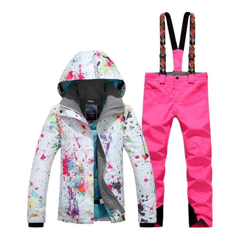 зимние горнолыжные костюмы для женщин интернет магазин фото