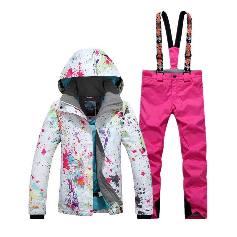 женские красивые горнолыжные костюмы