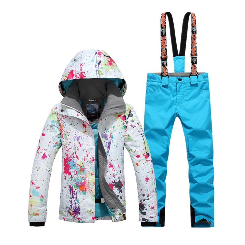 Зимняя дышащая мужская лыжная куртка