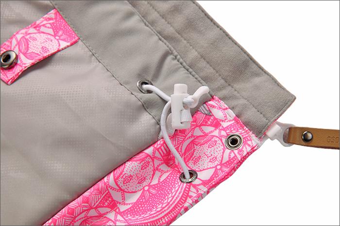 Женская ветрозащитная водонепроницаемая зимняя лыжная куртка GSOU SNOW фото