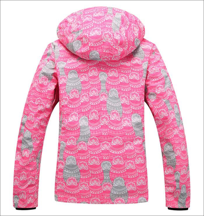 Женская зимняя лыжная куртка Gsou SNOW фото