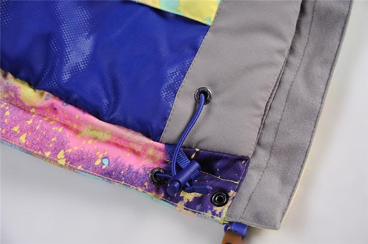 Женская теплая зимняя горнолыжная куртка GSOU SNOW, купить женскую горнолыжную куртку в интернет магазине