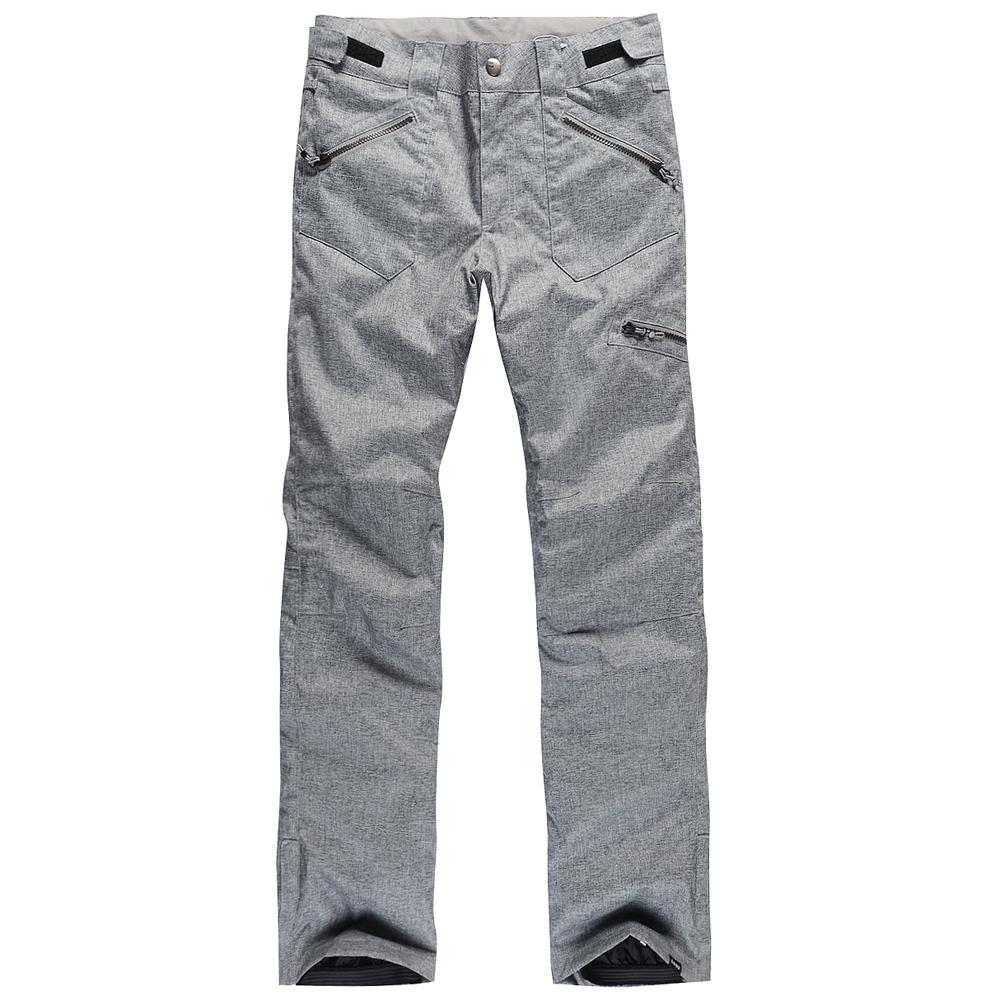Лыжные брюки Gsou Snow, сноубордические брюки женские, бурые женские горнолыжные брюки-штаны Gsou Snow фото