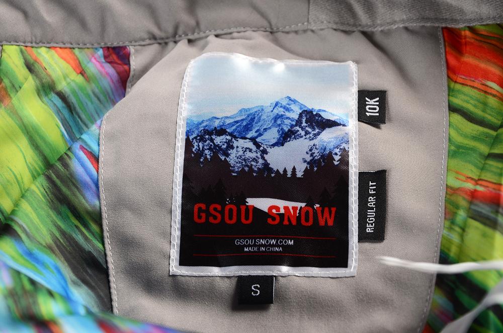 Лыжные брюки Gsou Snow, сноубордические брюки женские, женские горнолыжные брюки-штаны Gsou Snow