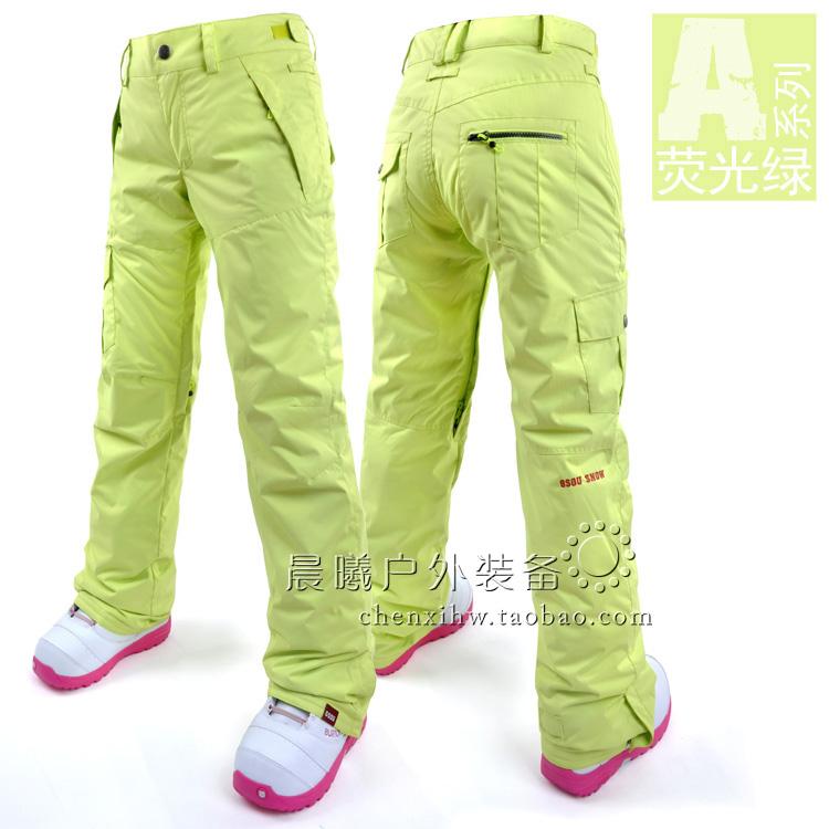 Женские лыжные брюки, сноубордические брюки женские, женские горнолыжные брюки-штаны фото