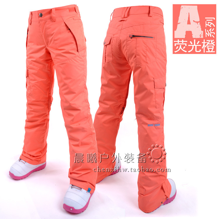 Лыжные брюки Gsou Snow, сноубордические брюки женские, голубые женские горнолыжные брюки-штаны Gsou Snow фото