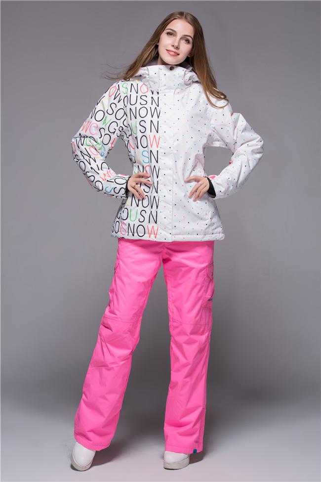 Яркие горнолыжные зимние костюмы женские доставка