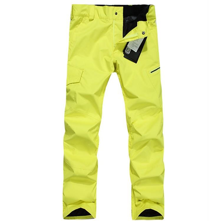 Зимние мужские сноубордические брюки Gsou Snow, мужские брюки для сноуборда фото