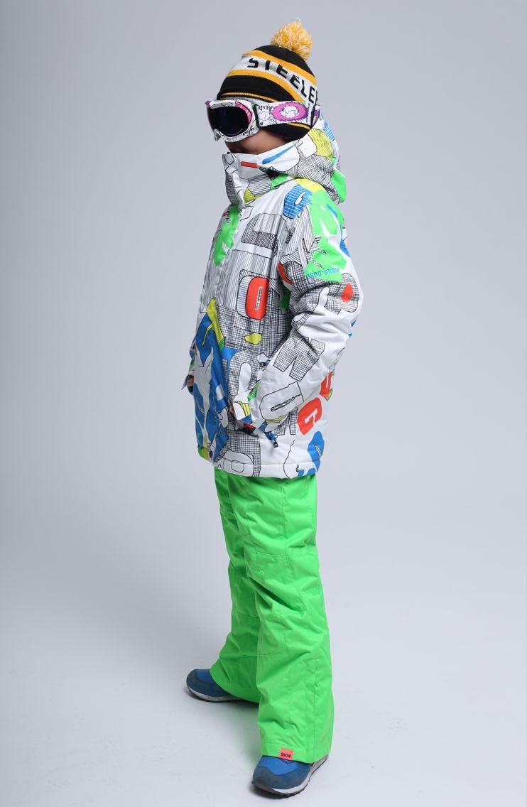 детский сноубордический костюм Gsou SNOW фото