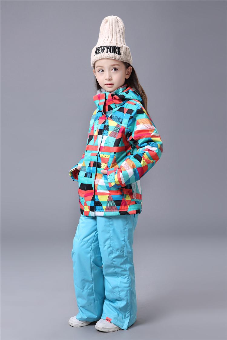 детский лыжный костюм для сноуборда фото