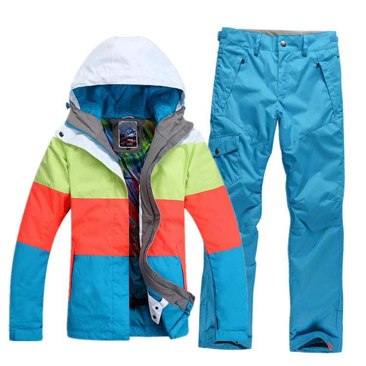 Зимние костюмы женские горнолыжные
