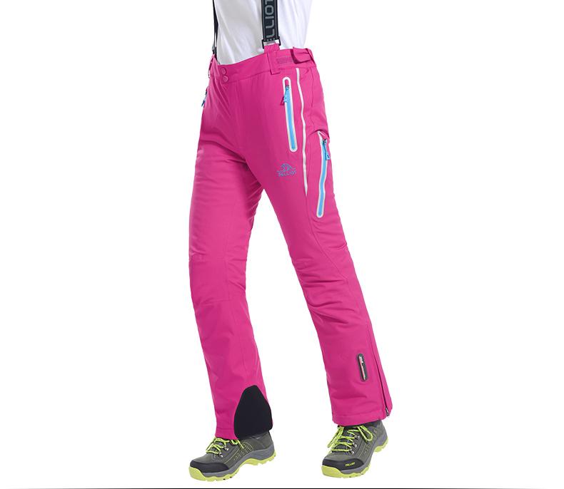 Женские горнолыжные брюки Pelliot, лыжные женские штаны, теплые зимние женские сноубордические штаны, горнолыжные зимние брюки для женщин фото