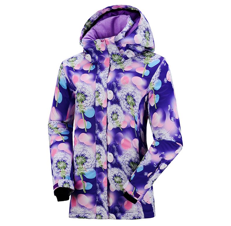 Женская модная зимняя горнолыжная куртка PELLIOT, красивый женский сноубордический костюм, горнолыжная экипировка, горнолыжная одежда фото