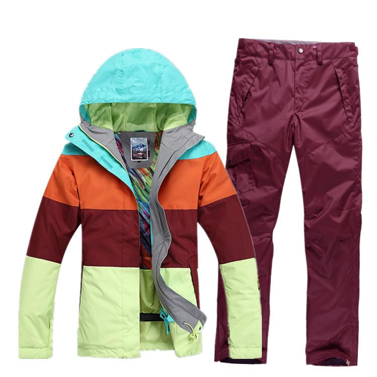 Брендовые горнолыжные костюмы женские доставка